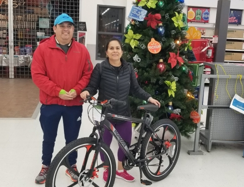 Griselda Scott is Our Bike Giveaway Winner
